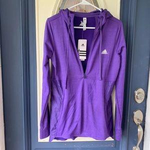 Adidas ClimaWarm hoodie NWT